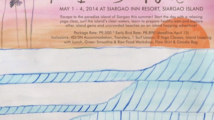 Flow Island Surf Yoga Retreat Siargao!