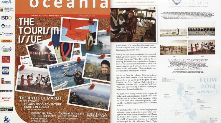The Oceania Magazine Feature