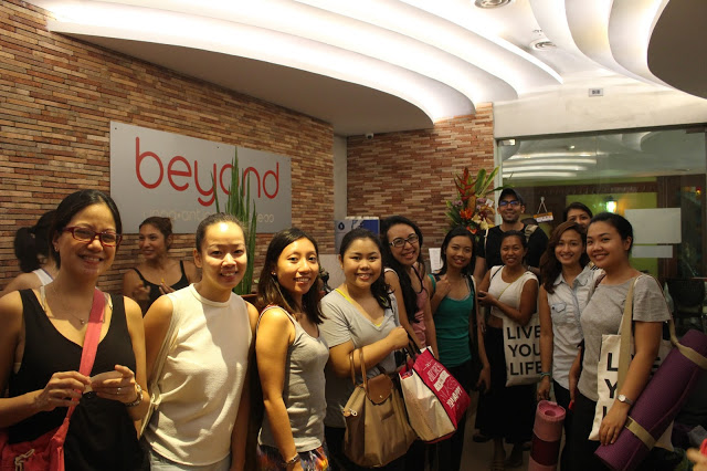 Flow Mystery Tour in Beyond Yoga Serendra