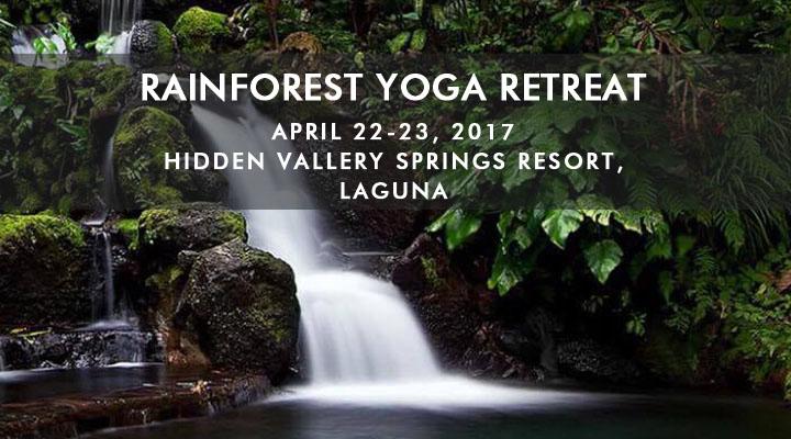 Rainforest Yoga Retreat – Hidden Valley Springs – April 22-23
