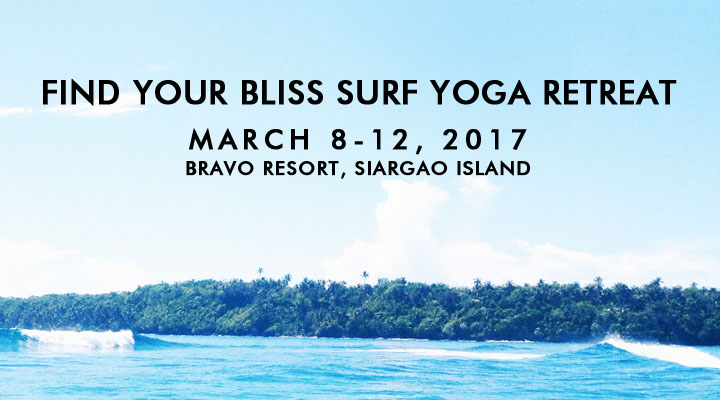 Find Your Bliss Surf Yoga & Retreat – Siargao Island – March 8-12