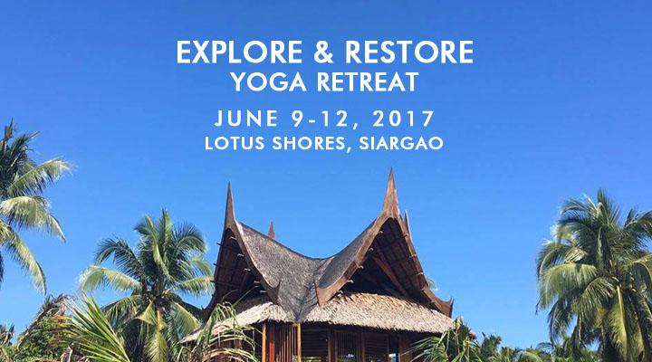 Explore & Restore Yoga Retreat – June 9-12 – Siargao