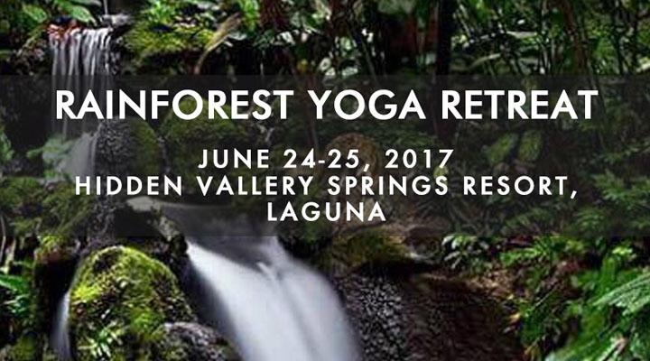 Rainforest Yoga Retreat – Hidden Valley Springs – June 24-25