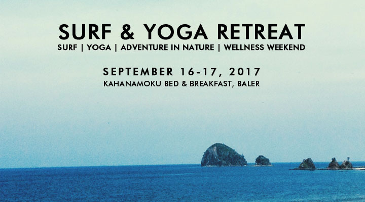 Surf & Yoga Retreat – September 16-17