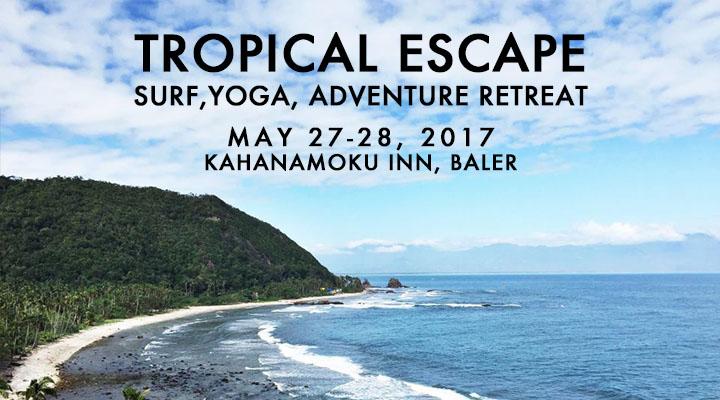 Tropical Escape: Surf Yoga Adventure Retreat – May 27-28
