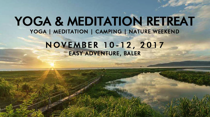 Yoga & Meditation Retreat – November 10-12