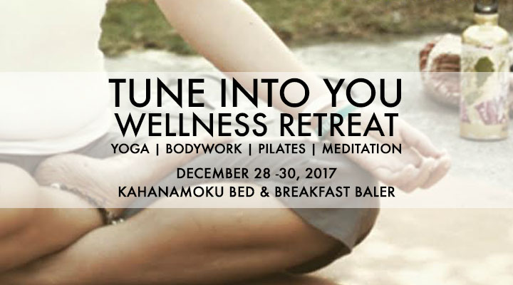 Tune Into You Retreat – December 28-30