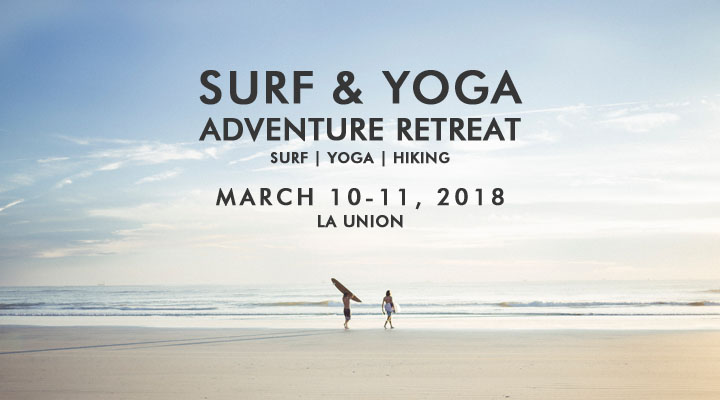 Surf & Yoga Adventure Retreat – March 10-11