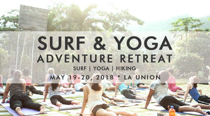 Surf & Yoga Adventure Retreat – May 19-20