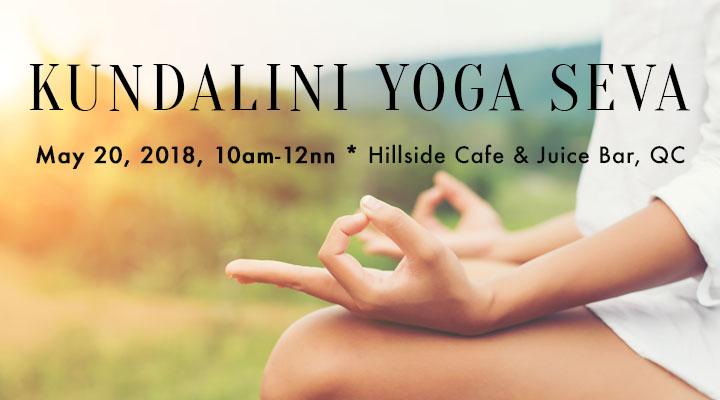 Kundalini Yoga Seva – May 20